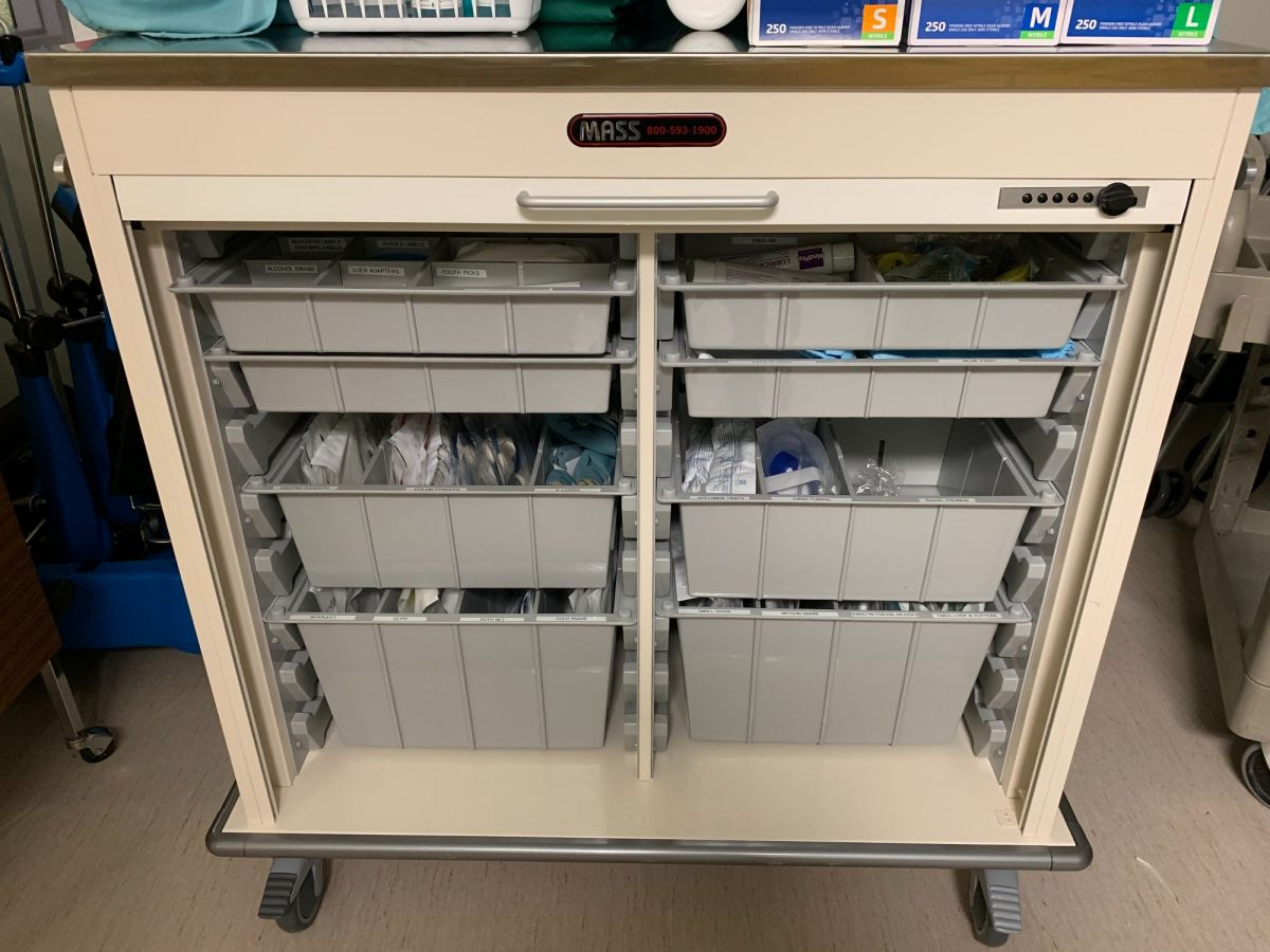 Endo Cart saves time and improves efficiency